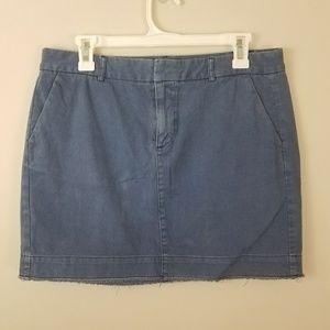 ❤️️Sale❤️️ GAP   Blue Twill Mini Skirt